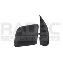 Espejo Ford Econoline Van 1998-1999-2000-2001 Manual Negro