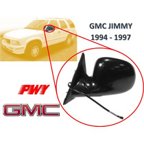 94-97 Gmc Jimmy Espejo Lateral Electrico Izquierdo Pwy