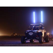 Antena Led Whip De 1.80mts Jeep Razor Colores Estrobo