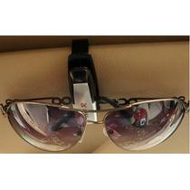 Clip Sujeta Lentes Gafas Para Auto Coche +regalo