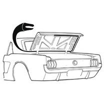 Ford Mustang 65 66 66 67 68 69 70 Empaque Cajuela Coupe Conv