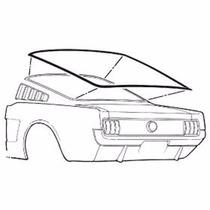 Mustang 65 66 Empaque Cristal Medallon Fastback