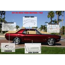Hules Para Puertas Ford Mustang 1968 Importados