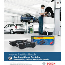 Balatas Bosch Nissan Platina Aprio Pastilla De Freno Premium