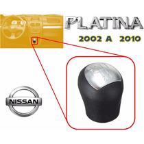 02-10 Platina Pomo Perilla Palanca Velocidades Negro / Gris