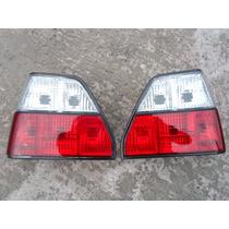 Vw Golf A2 1984-1991 Tail Lights Calaveras Cristal_red R + L