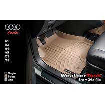 Tapetes Audi Uso Rudo 1ra Y 2da Fila Weathertech Floorliner