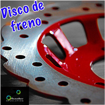Disco De Freno Hiperventilado Racing P/ Ds150 Gs150 Gts175