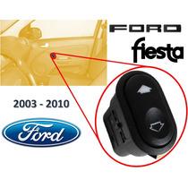 03-10 Ford Fiesta Control Vidrios Electricos Delantero Der.