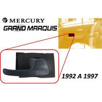92-97 Mercury Grand Marquis Manija Interior Trasera Derecha