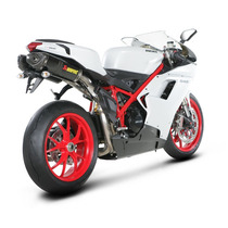 Escape Akrapovic Slip-on Ducati 848 Evo, 1098r,s / Envio Gra