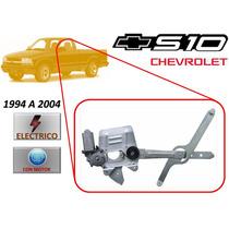 94-04 Chevrolet S 10 Elevador Vidrio Electrico Con Motor Izq