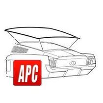 Mustang 1967 1968 Empaque De Hule Para Medallon Fast Back