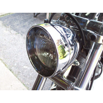 Bisel De Faro Extendido Para Harley Softail Sportster Dyna