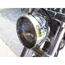 Bisel Extendido De Faro P/ Harley Softail Sportster Dyna Fxr