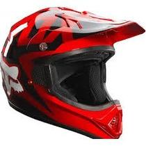 Casco Fox Vf-1 Rojo 2015 Moto !! Talla M