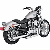 Escapes Slip-on Vance & Hines Para Harley Davidson 2004 2013