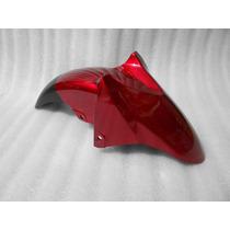 Salpicadera Delantera Yamaha Fz16 Color Rojo Metalico