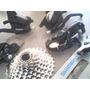 Kit Cambios Desviadores Estrella Cadena Bici Instalada