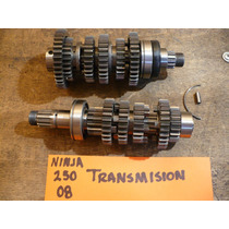 Kawasaki Ninja 250 2008 Transmision Primaria Y Secundaria