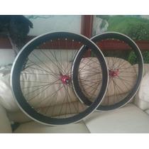 Rines Bicicleta R700 (r25) 50mm Mazas Para Sprock C/bloqueo