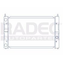 Radiador Audi A3 91-99 1.8/2.0lts Estandar