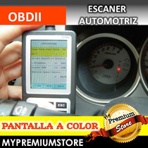 Scanner Obd2 Automotriz Pantalla Color Usb Todos Autos 96-14