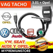 Vag Tacho Corrector Kilometraje Pin Code Vw Audi Seat Y Opel