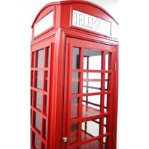 Vitrina Cabina Telefonica Real Londres Sala Minimalista 2m
