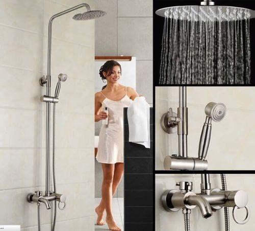 Baño De Regadera En Ninos:regadera-moderna-para-bano-tipo-cascada-con-regadera-de-mano-892701
