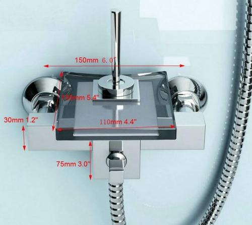 Regadera De Baño Moderna:Regadera Moderna Para Baño Tipo Cascada Faucet – $ 6,99000 en