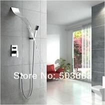 Regadera tipo cascada llave mezcladora y ducha de mano sp0 for Llaves de regadera precio