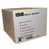 Regulador Electronico Voltaje Sola Basic Isbxellence5000 +b+