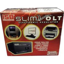 Regulador Sola Basic Slim Volt 1300va / 700w Con 4 Contactos