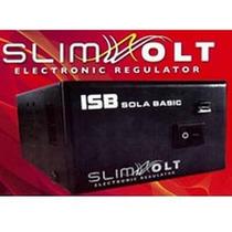 Regulador Sola Basic Isb Slim Volt, 1300va/700w, 4 Contactos