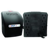 Regulador De Voltaje 650watts Complet 8 Contactos