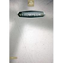 Biblia De Estudio Thompson Piel Especial Negro