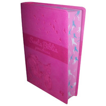 Biblia Para Chicas Piel Italiana Rosa Fiusha Nvi