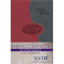 Biblia Letra Grande Con Concordancia Indice Nvi