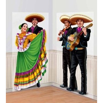 Bailarines Y Mariachis Escena 65in Setter Add-ons 2ct
