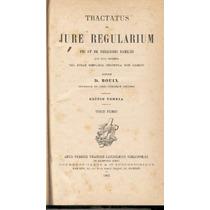 Bouix. Tractatus De Jure Regularium 2 Tomos. 1882