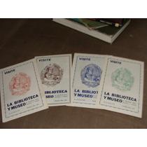 Libro 4 Folletos Del Museo De Identidad Dactiloscopica Y Pol