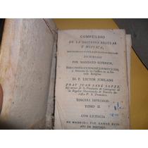 Libro Antiguo Año 1795 Compendio De La Doctrina Regular