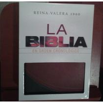 Biblia Cronológica Nva Ed. Simipiel Reina Valera 1960