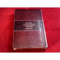 Biblia Del Pescador Caoba Piel De Lujo Mhi0280