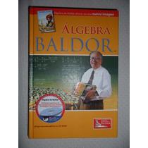 Libro Algebra De A. Baldor (pasta Dura)