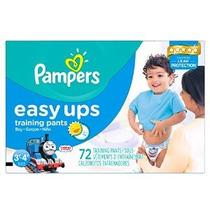 Pampers Easy Ups Training Pants Tamaño 3t4t Super Pack Niños
