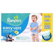 Pampers Entrenamiento Fácil Ups Pantalones Pañales Para Niño