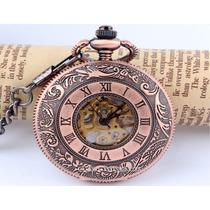 Reloj De Bolsillo Mecánico Clasico Vintage Automático