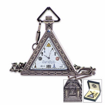 1920s Triangular Masonic Pocket (entrega 3 - 4 Semanas)